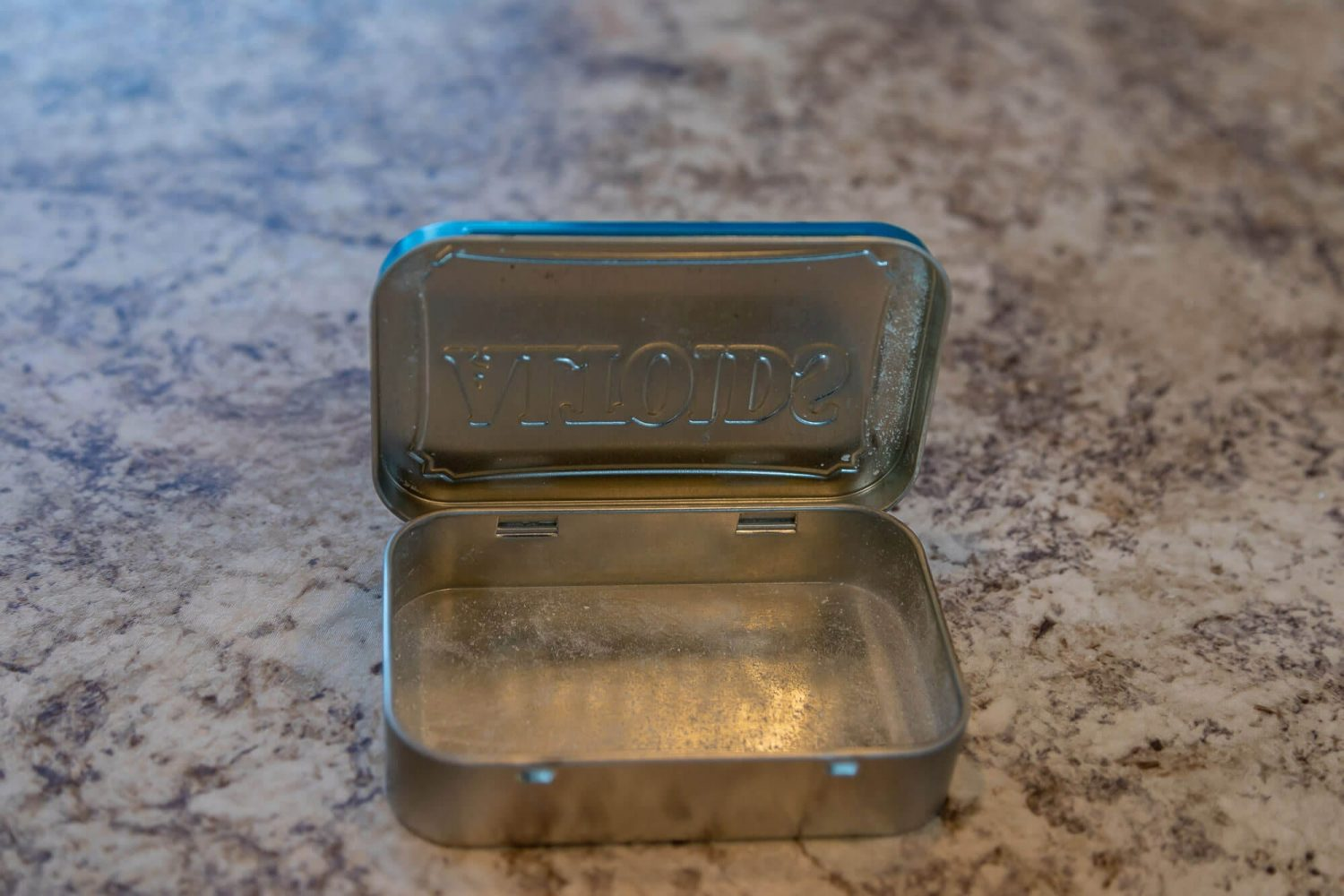 Altoids First Aid Kit Hack Empty Container