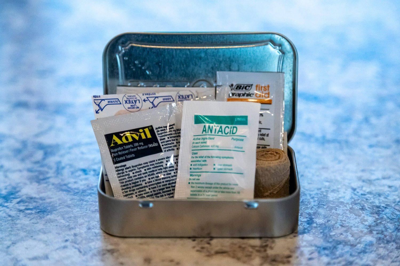 First Aid Altoid Kit