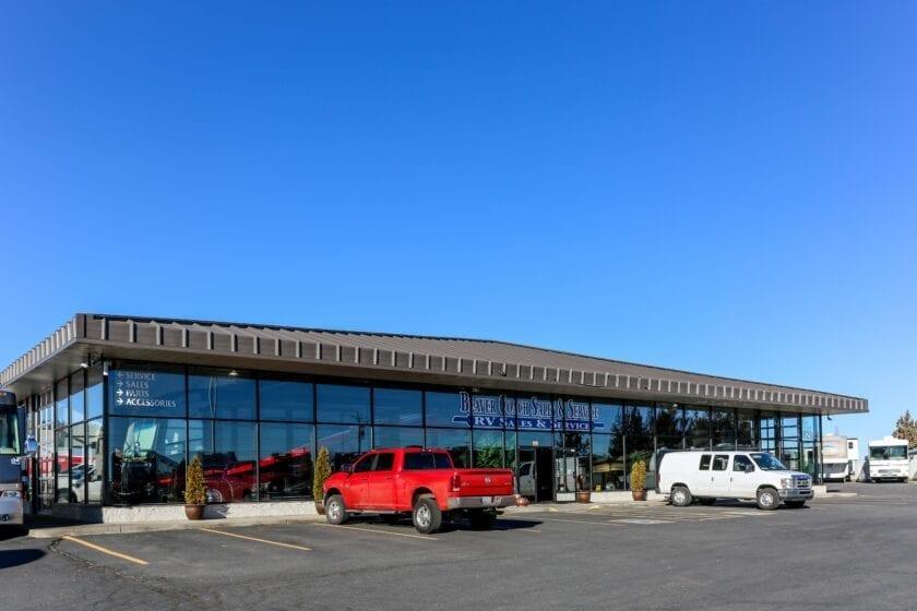 Beaver Coach Sales Building
