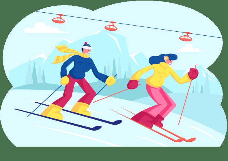 Ski Trips Happy Campers RV Rentals