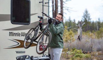 Happy Campers RV Rentals Bike Rack