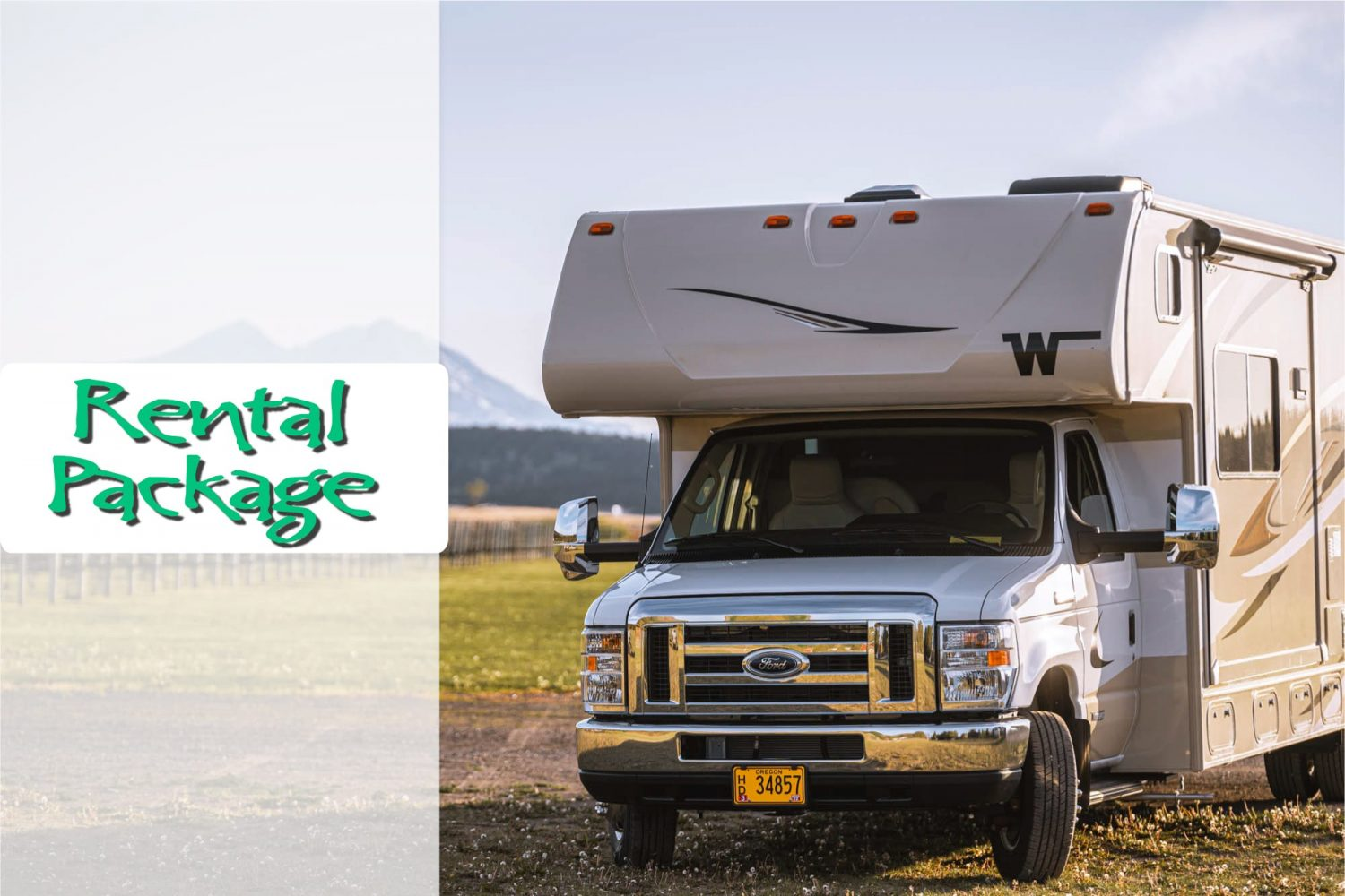 RV Rental Package in Oregon