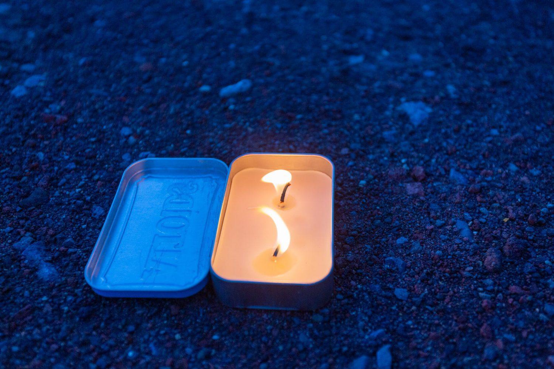 Altoid Candle Lit