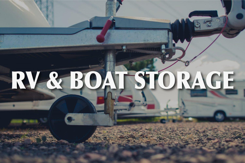 RV & Boat Storage in Central Oregon