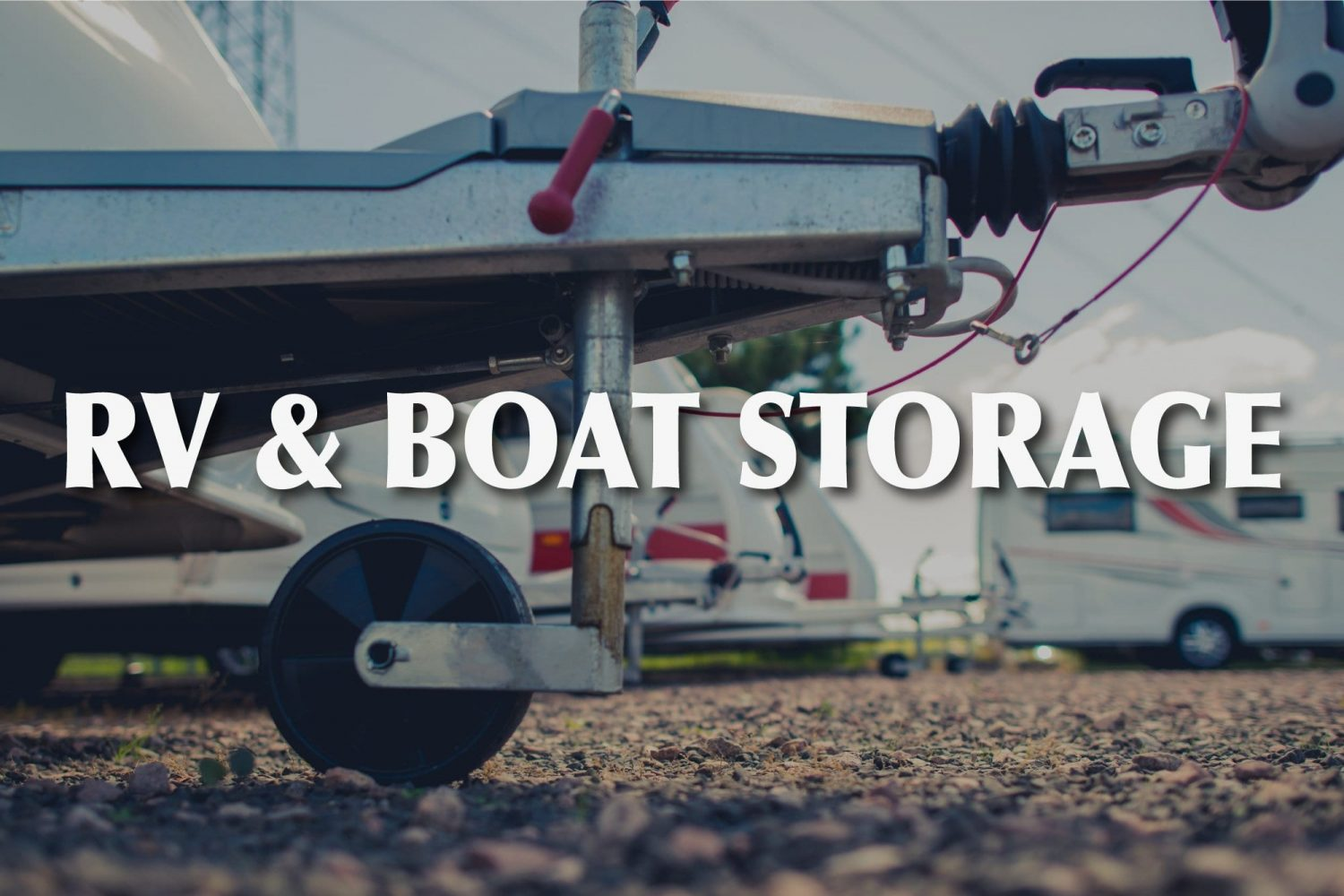 RV & Boat Storage in Central Oregon