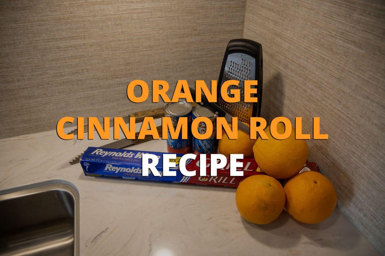 Orange Cinnamon Roll Recipe