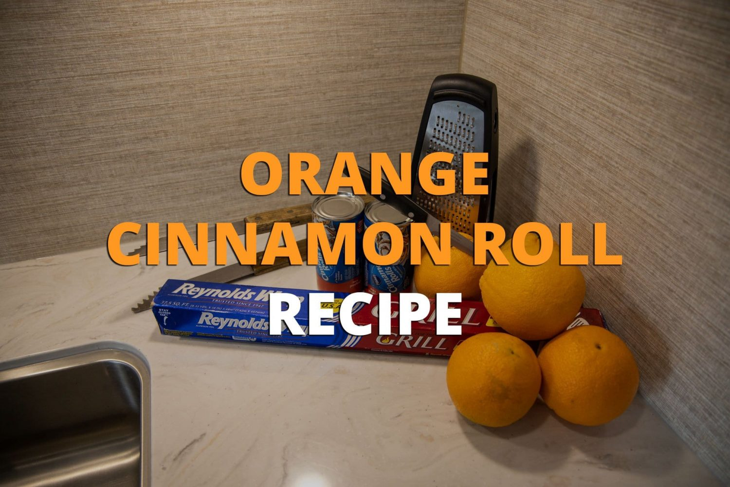 Orange Cinnamon Roll Recipe