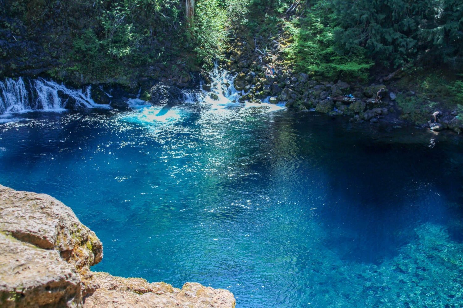 Tamolitch Blue Pool - Top 10 Central Oregon Winter Hikes