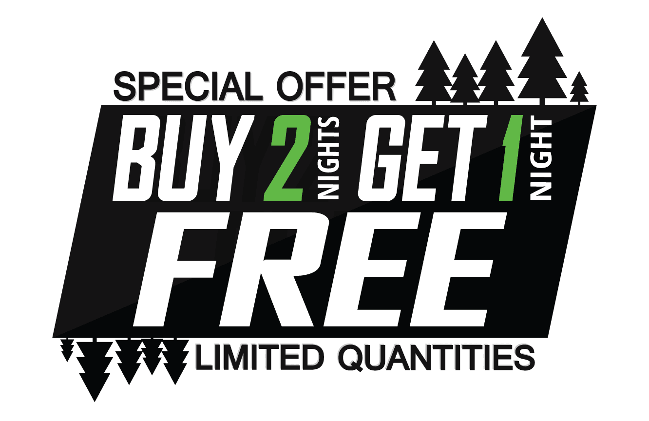 Buy 2 Nights Get 1 Free Winter Deal