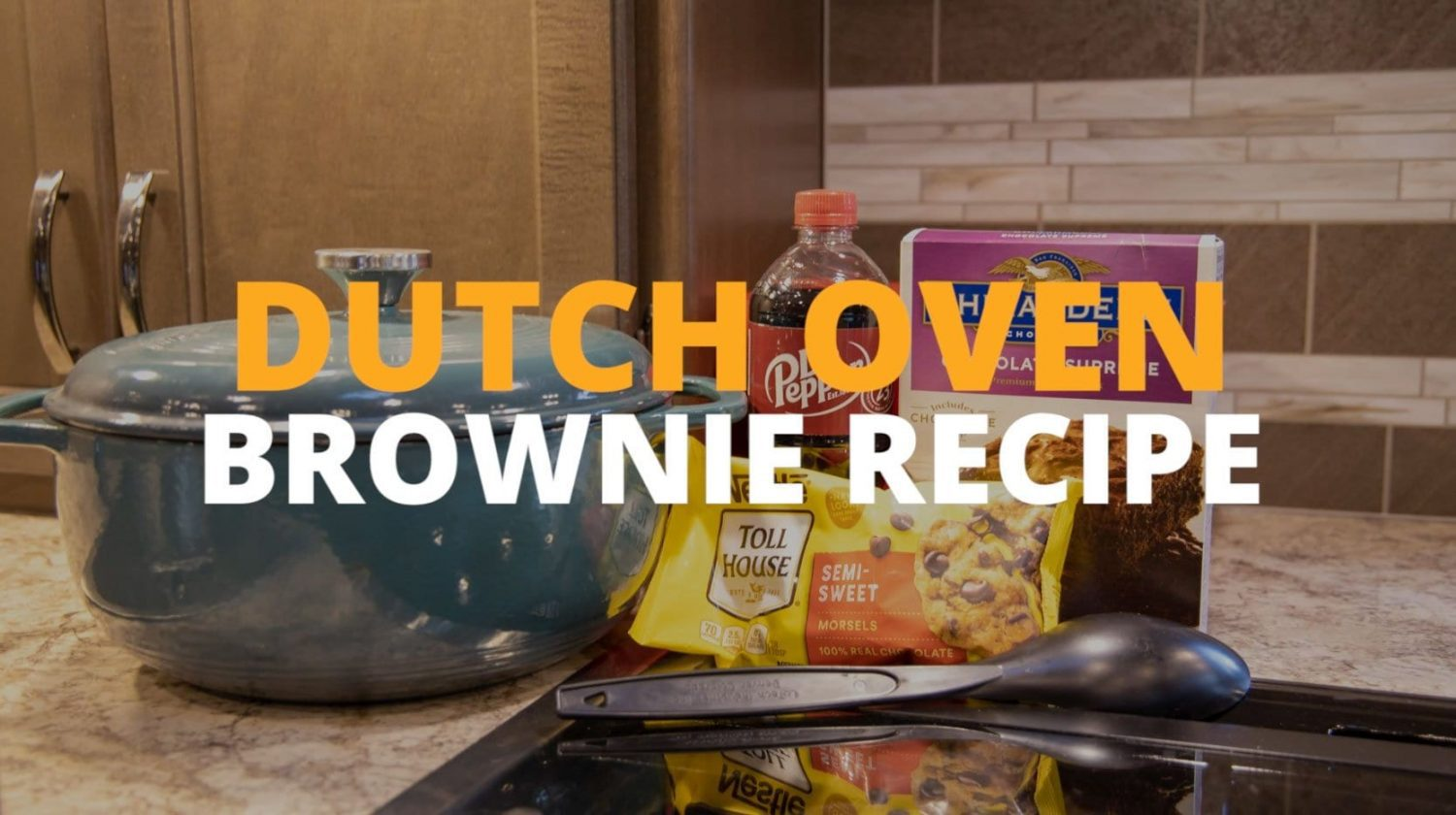 Dutch Oven Brownies Recipe