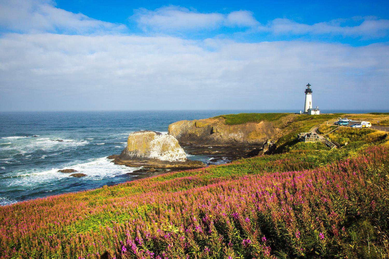 Yaquina Lighthouse in Newport Oregon
