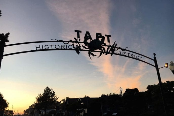 Taft Bay Historic District in Lincoln City