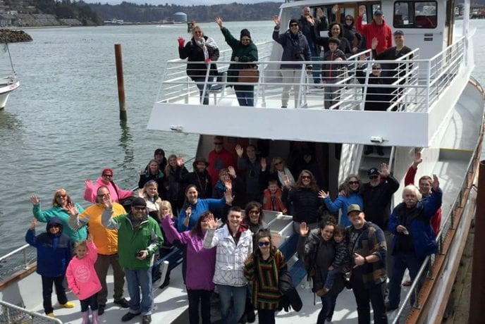 Newport Oregon educational ocean tours with Marine Discovery Tours company