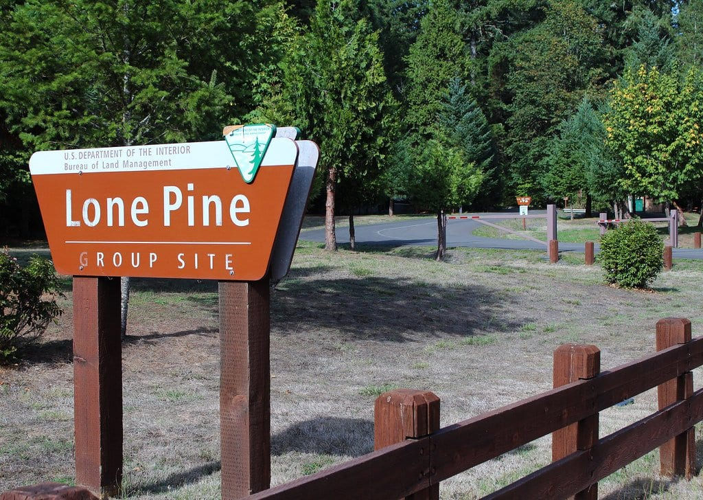 Lone Pine Campground near John Day Fossil Beds