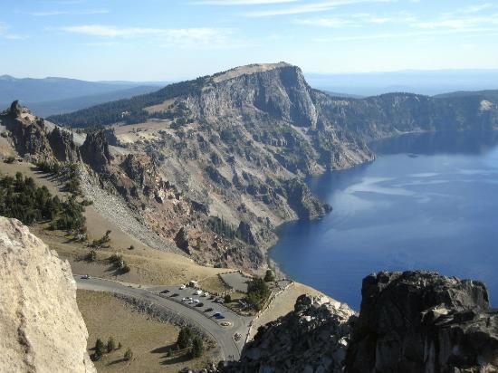 Crater Lake Rim Road drive