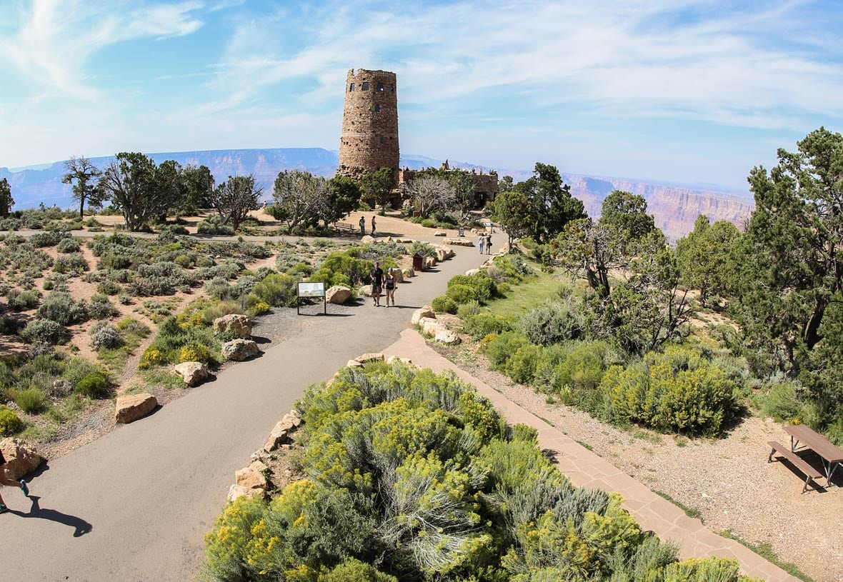 Desert View Campground by Grand Canyon National Park