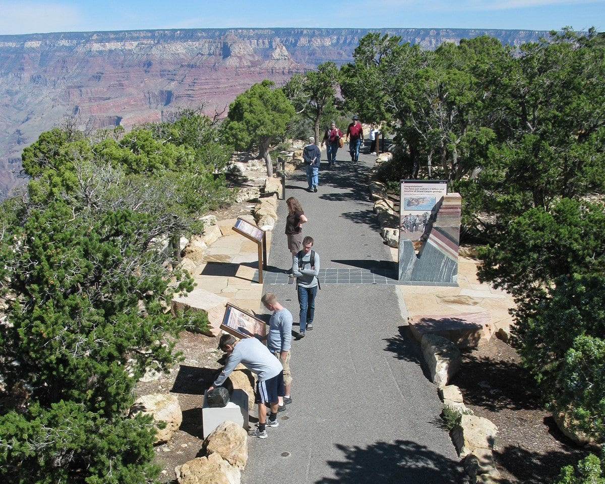 Trail of Time in Grand Canyon National Park